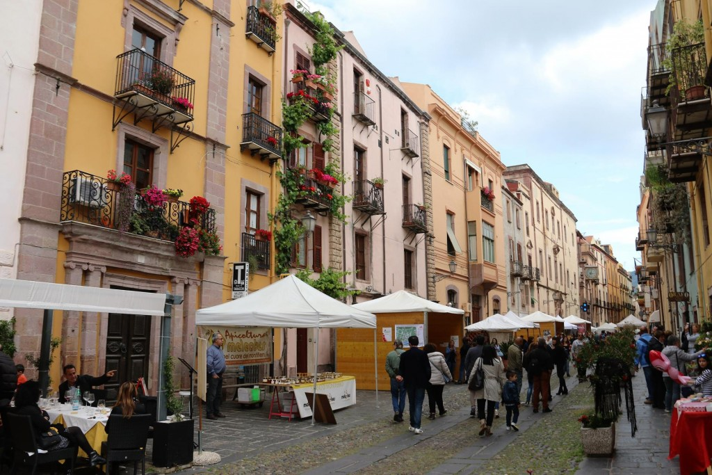 The delightful main street, Vittorio Emanuele Corso of the beautiful old medieval town