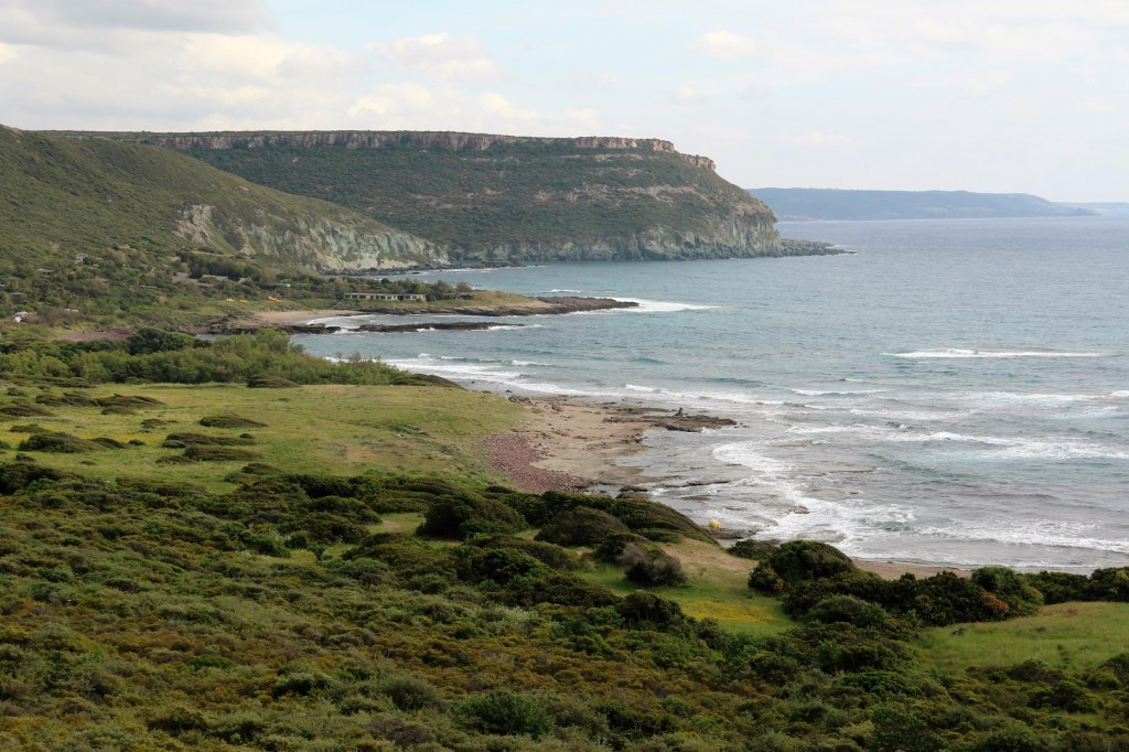 The coastline between Bosa and Alghero is quite rugged and spectacular
