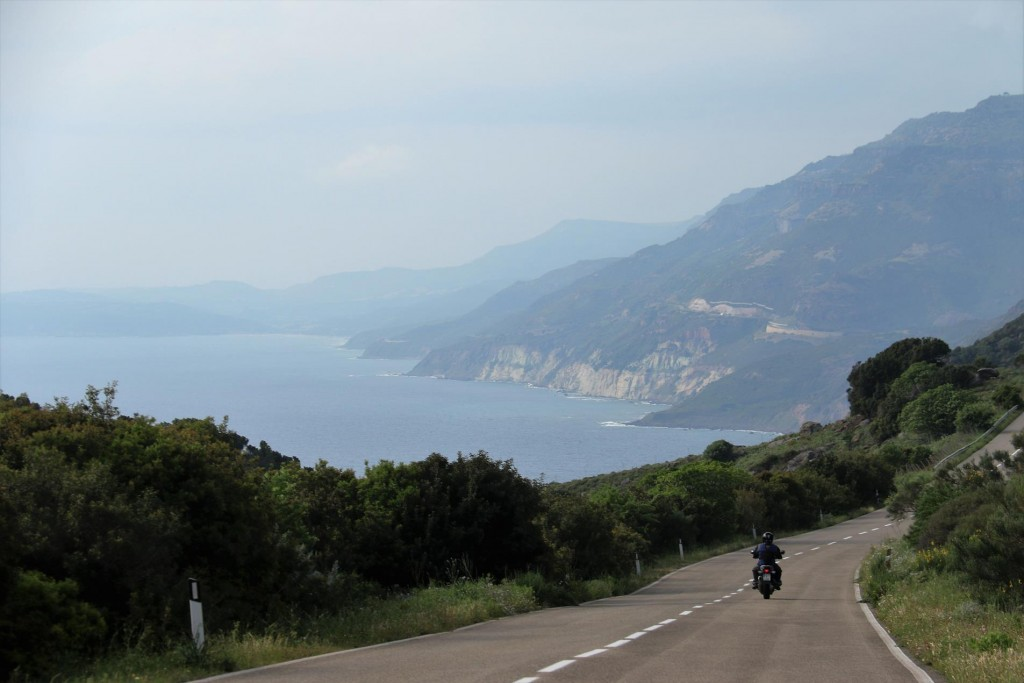 We chose the coastal road to Alghero from Bosa which was quite spectacular than the inland