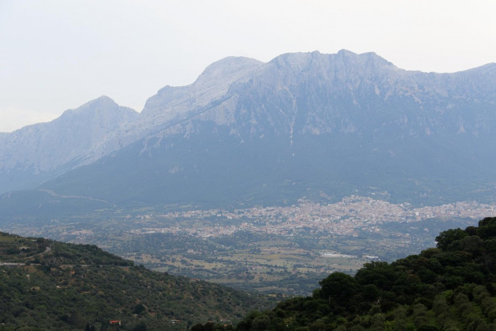 Wonderful views over the mountains from Nuoro