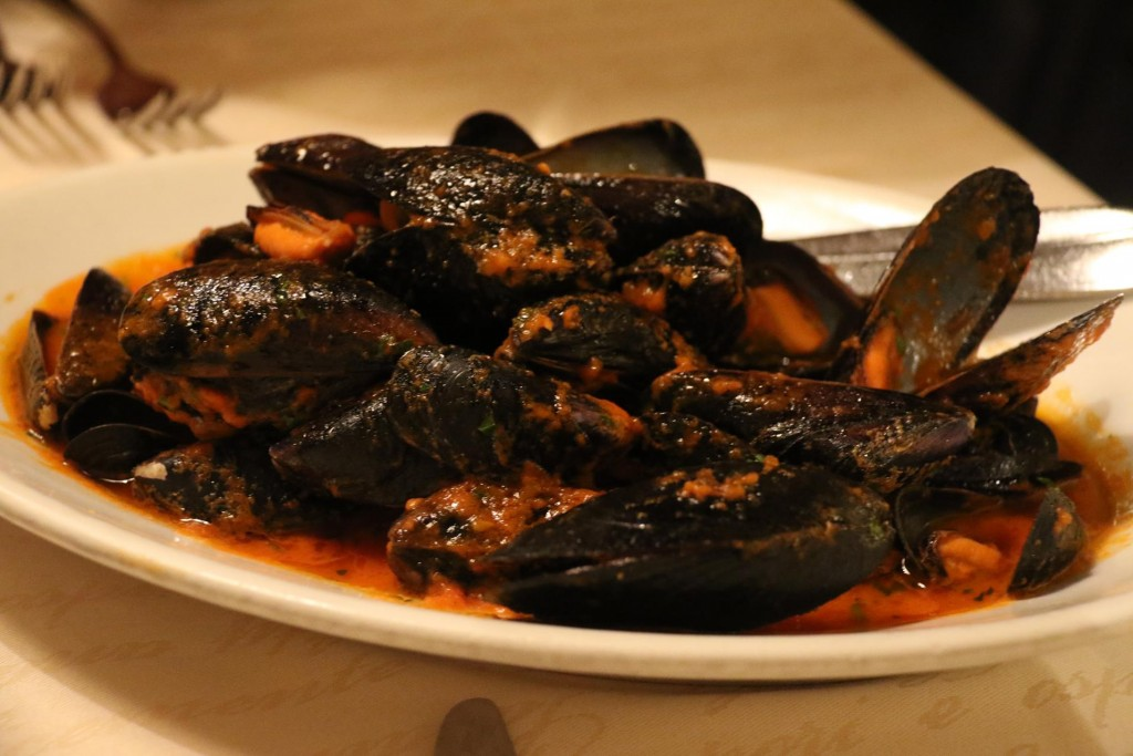 The mussels are the best here