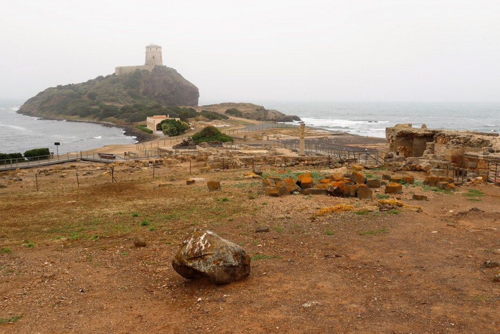 Although the weather was not cold, there was a strong wind and a sea mist all over the south west Pula area