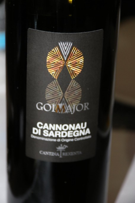 We try another Sardinian red
