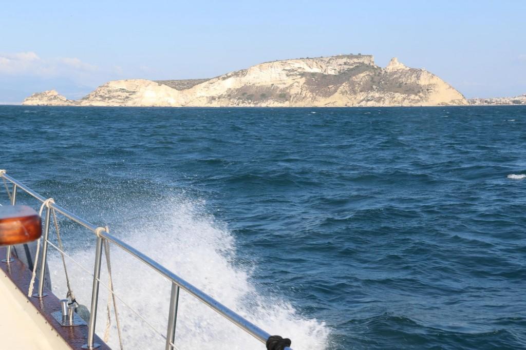 We head west along the south coast towards Cagliari