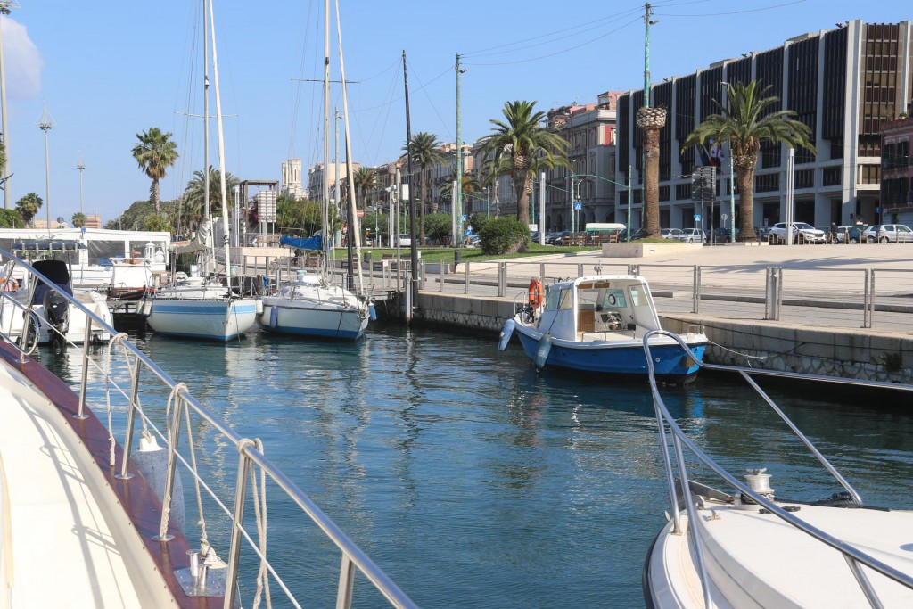 We are given a great position almost in the centre of Cagliari