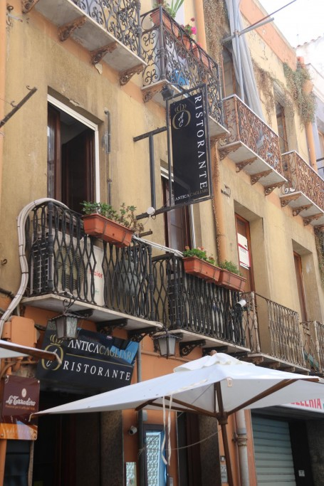 Once again we go to the AnticaCagliari, this time for a late lunch!