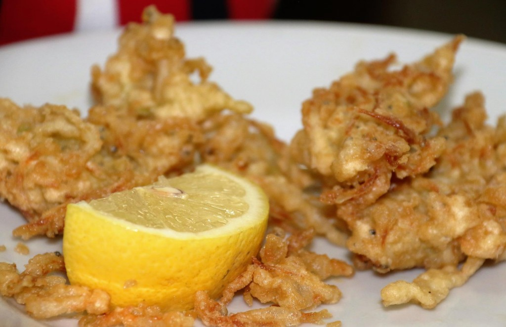Fried small fish
