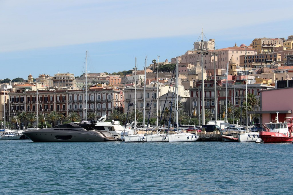 Cagliari with it's distinct Spanish architecture is definitely the most cosmopolitan and sophisticated town of Sardinia