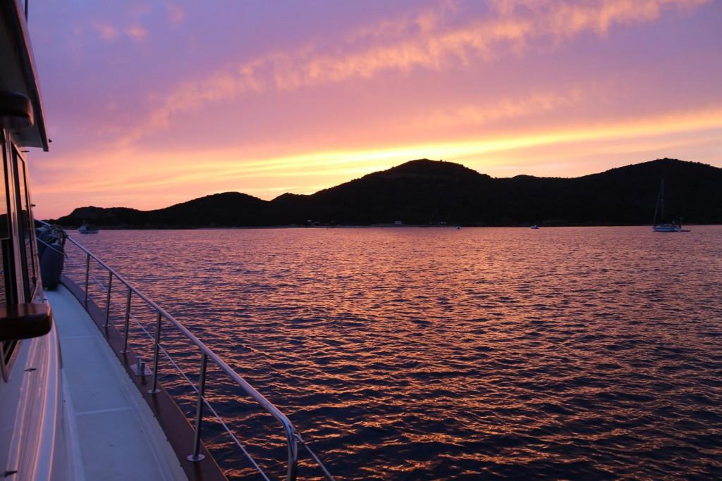 A beautiful sunset tonight
