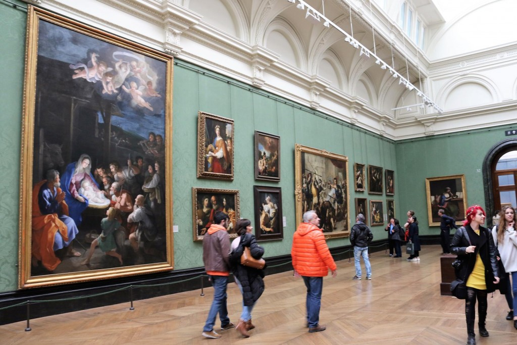 We spent several hours wandering through the amazing National Gallery which was full of incredible artwork from famous artists from different time periods