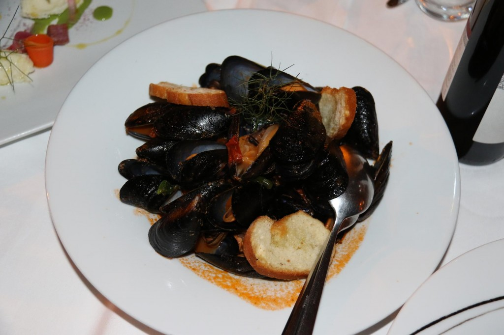 Mussels are always popular