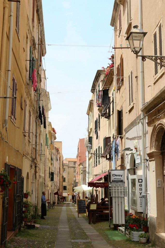 We head off down some of the interesting narrow streets
