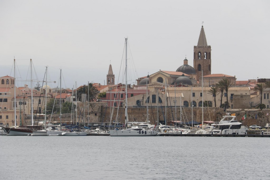 Alghero was wonderful town to visit again, especially by boat