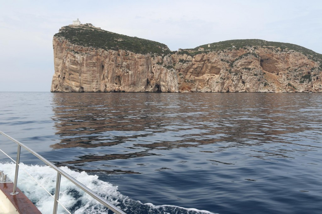 From Capo Caccia north for around 4 miles is a protected area