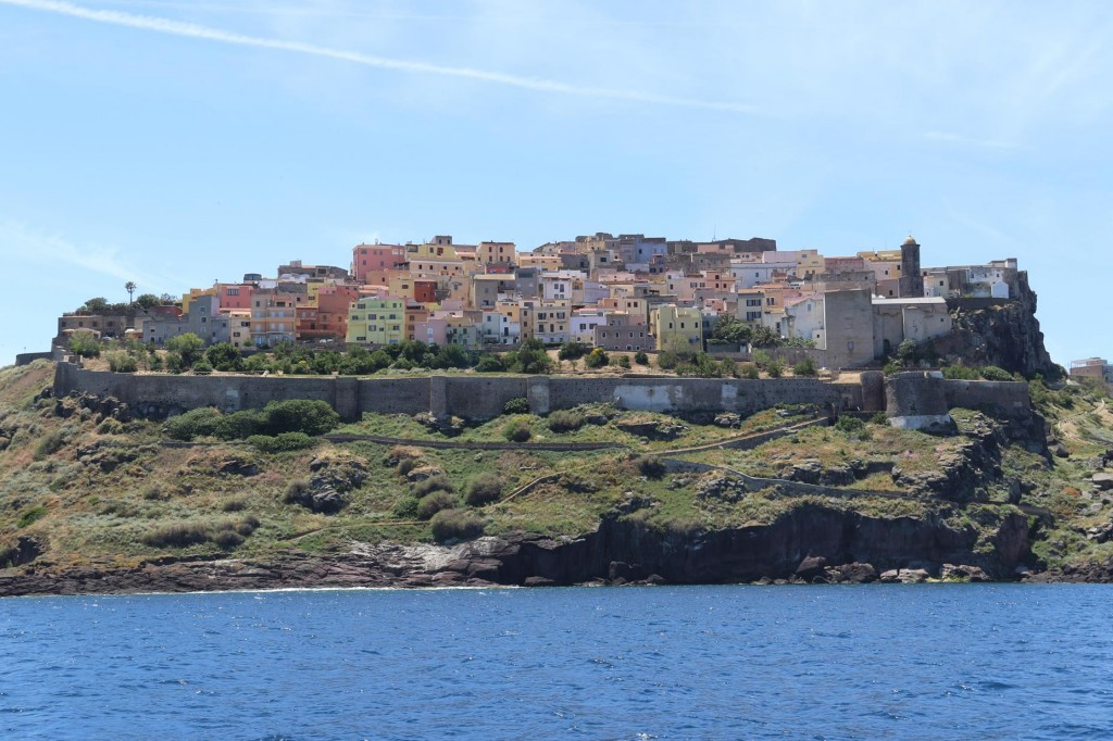 On the other side of the hill is a spectacular walled part of the town