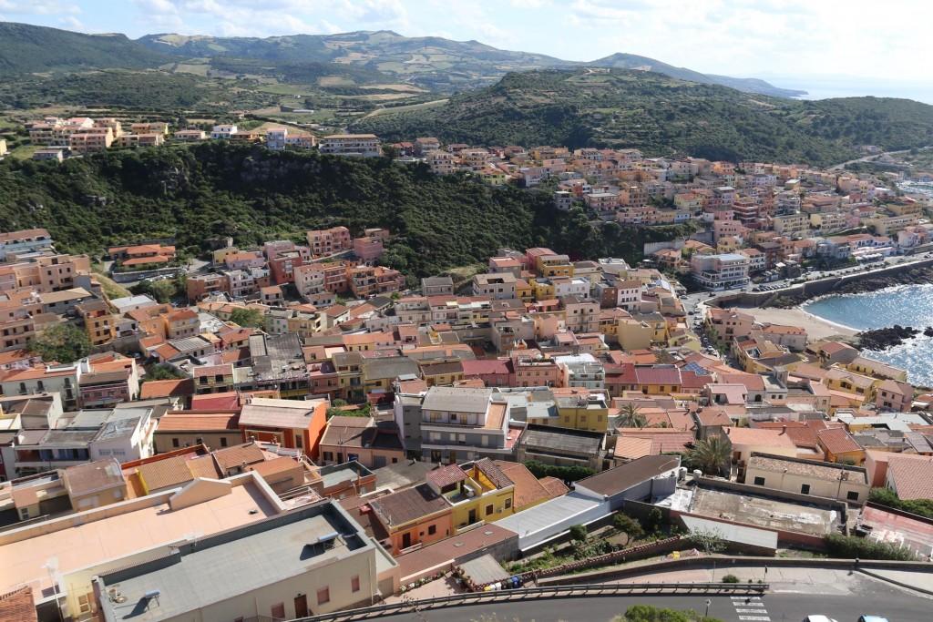 Great views over Castelsardo