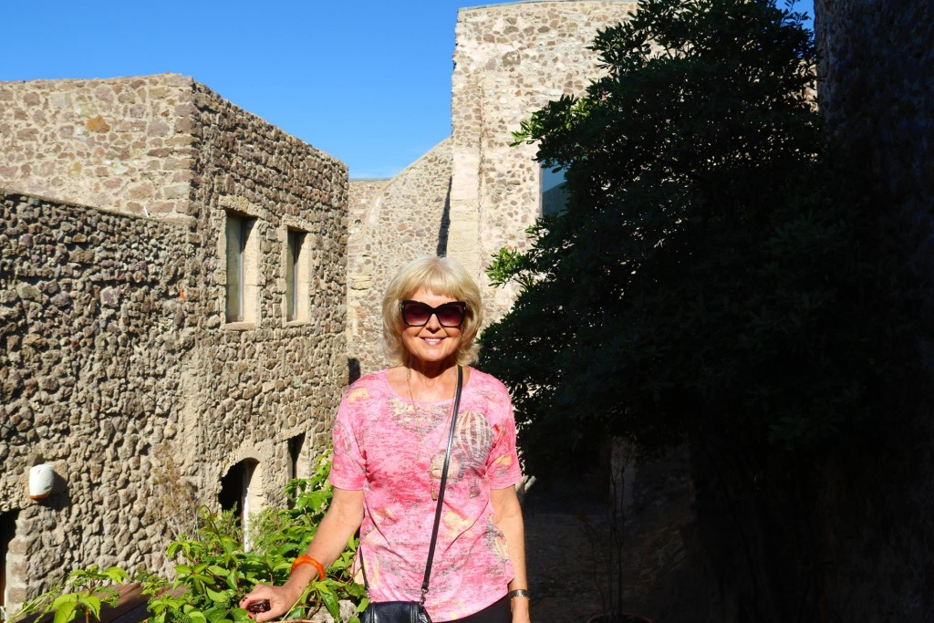 Me in the castle walls