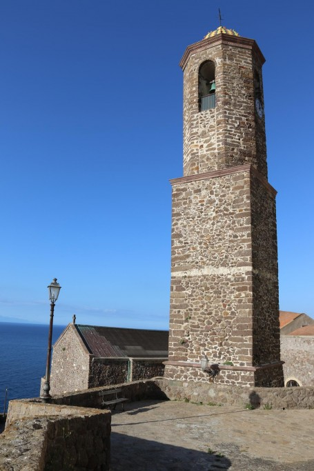 The landmark belltower by the Cattedrale, which was originally designed to be a lighthouse