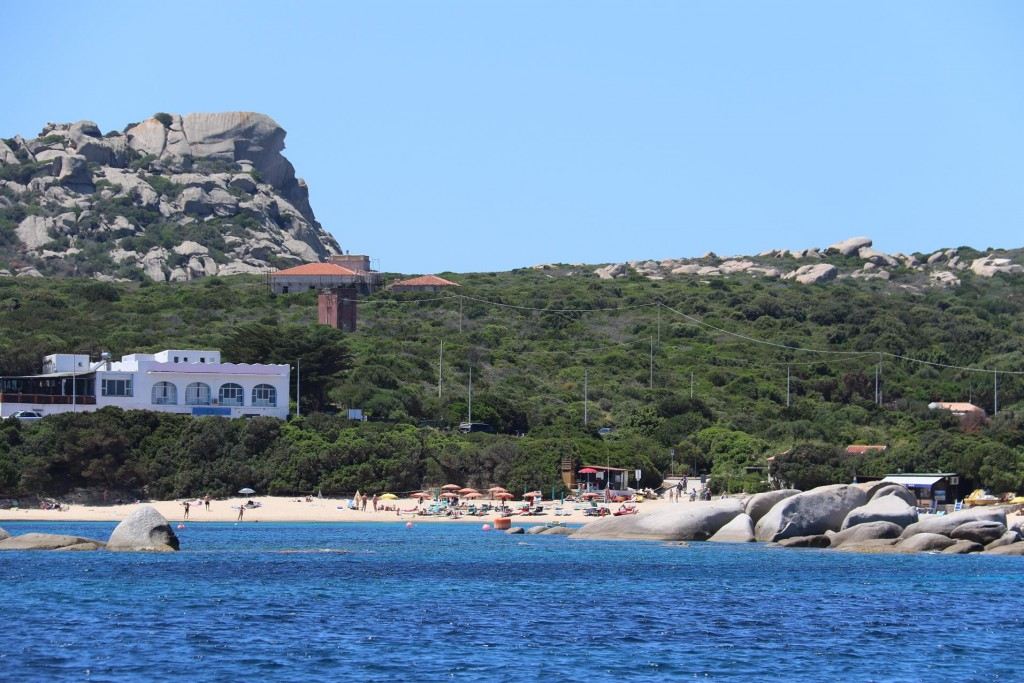 Baia Reparata seems to be a popular beach destination