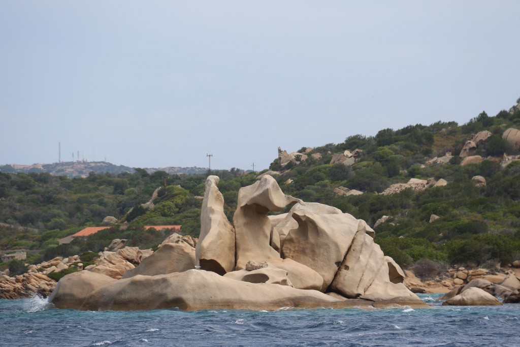 This area of Sardinia has the most amazing rock formations which apparently have been formed into incredible shapes by the wind