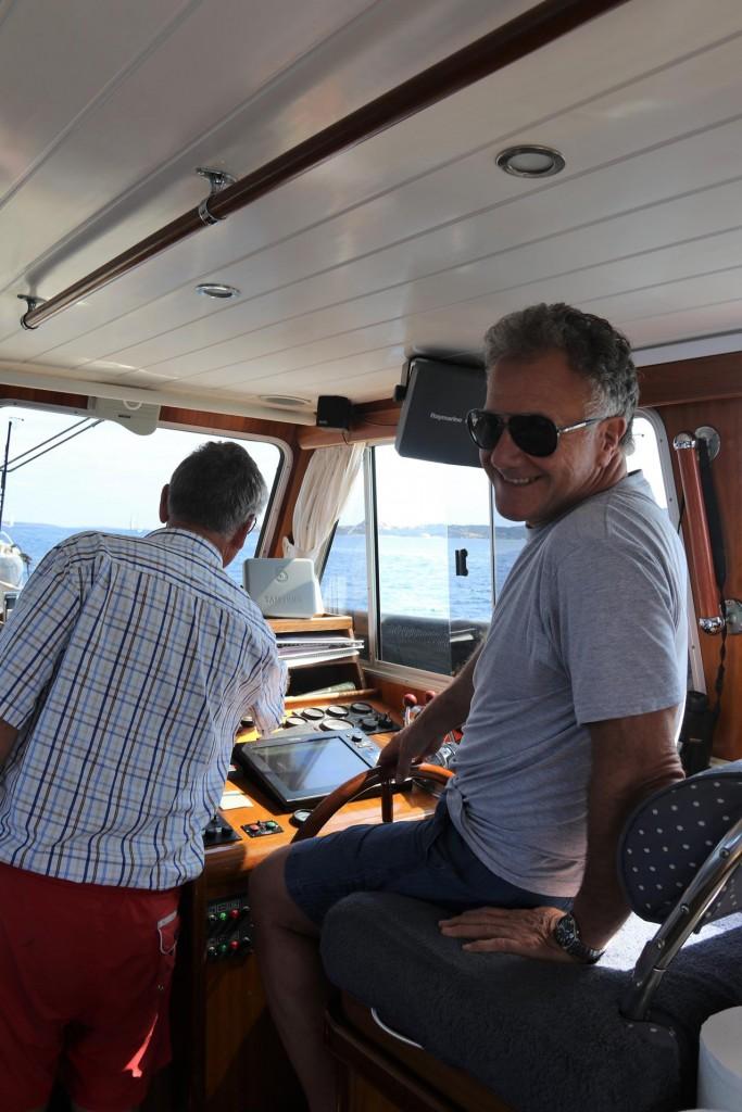 John takes over the controls of the Tangaroa