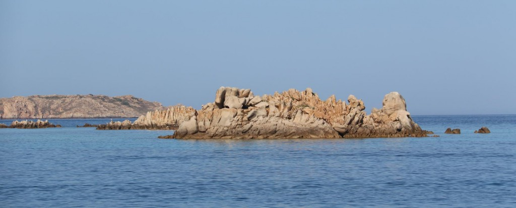 The rock formations on all the La Maddelena Islands are all very rugged and have a similar appearance
