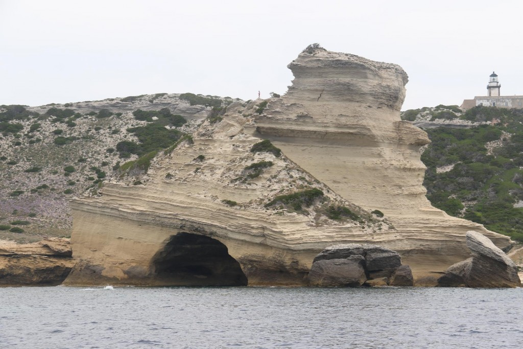 5km east from Bonifacio is Cap de Pertusato which is the southern most tip of Corsica