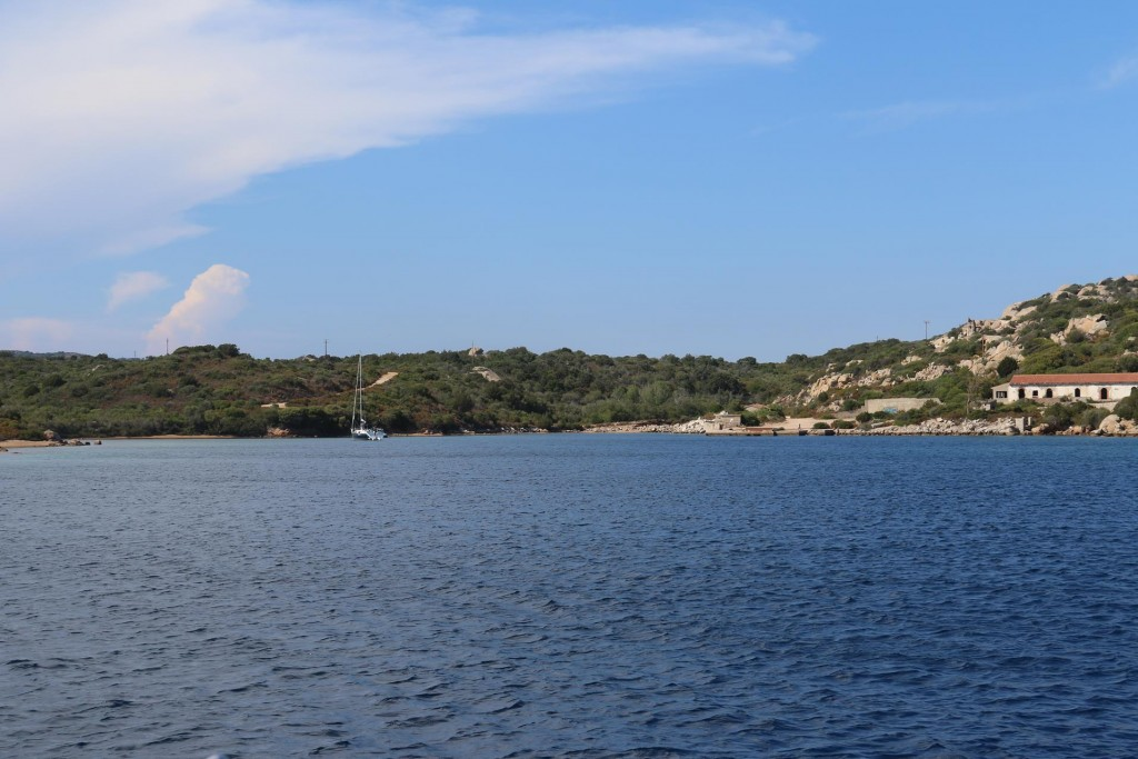 On our way back Isola Caprera in the La Maddelena Islands we call into Villamarina which is on the southern side of Isola San Stefano