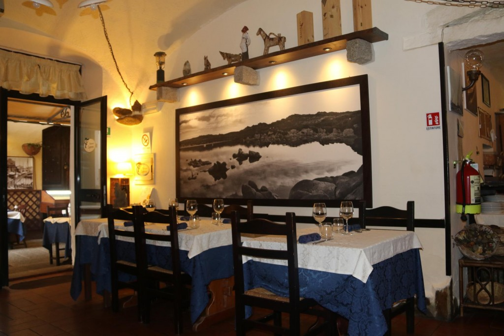 Ristorante Caprera before the customers arrive