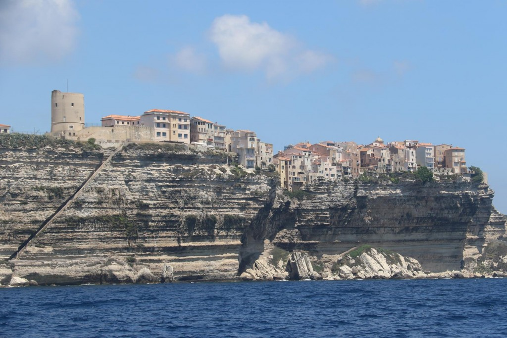 Once back out we pass the limestone cliffs with the old town perched high above