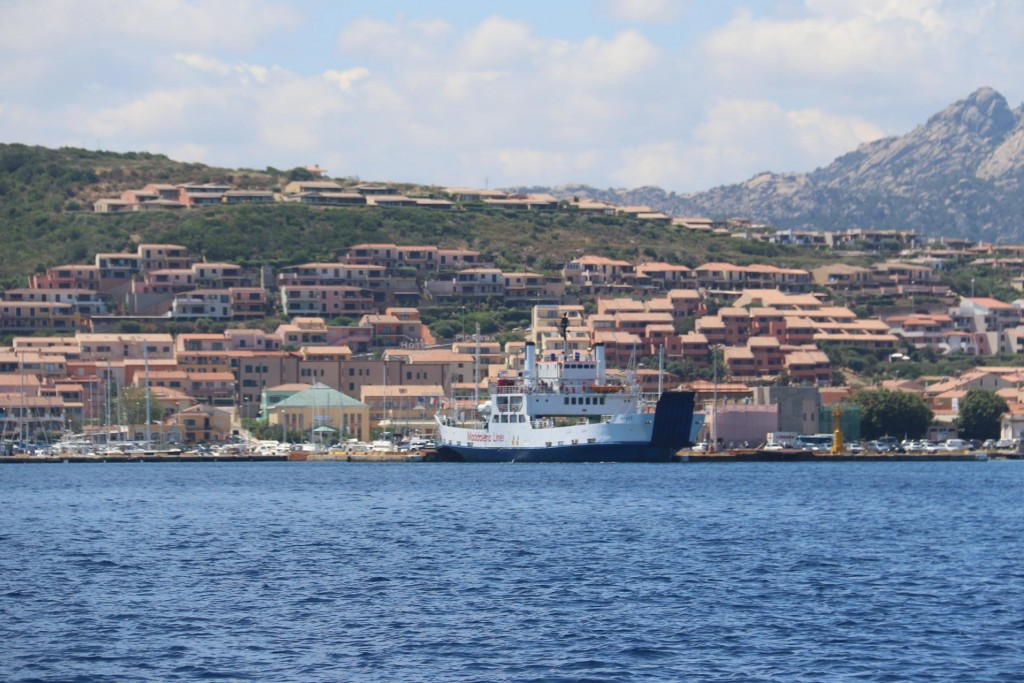 The now modern town of Palau, which once was a farming town is the main port for ferries going to and from La Maddalena