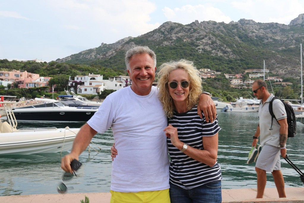 John and Angela leave us today to continue on their journey around Sardinia by car for a few days before flying to Portugal