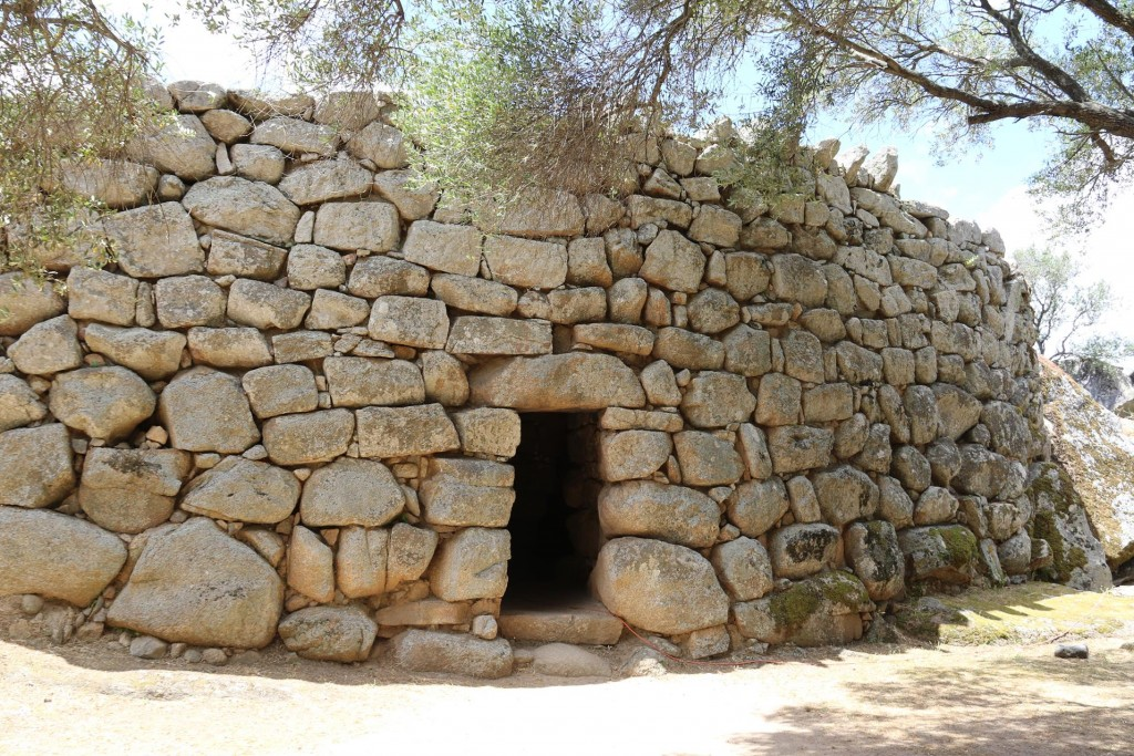 The first site we visit is the Albucciu Nuraghe south east of Arzachena