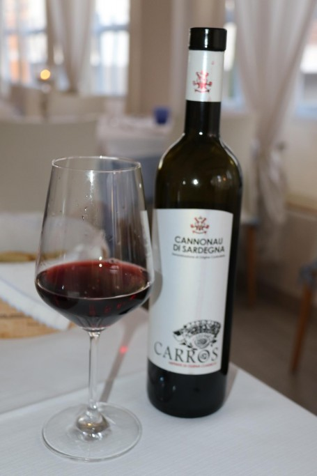 We have enjoyed the local Cannonau reds in Sardinia
