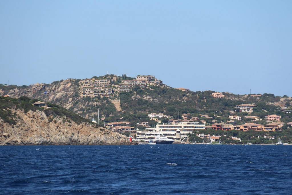 Porto Cervo, the port for the rich and famous on the Costa Smeralda