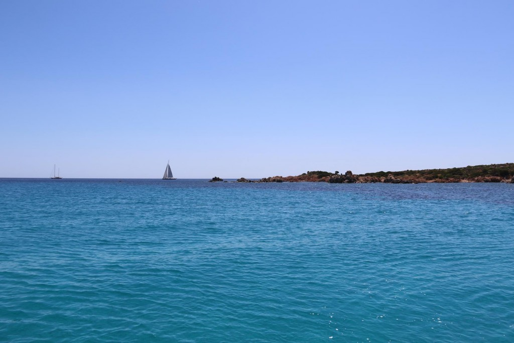 Just south of Porto Cervo is the large bay called Golfo Pero