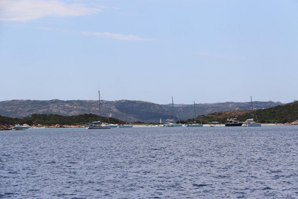 Firstly we call in to the busy Carla Portese on the south east coast of Caprera Island