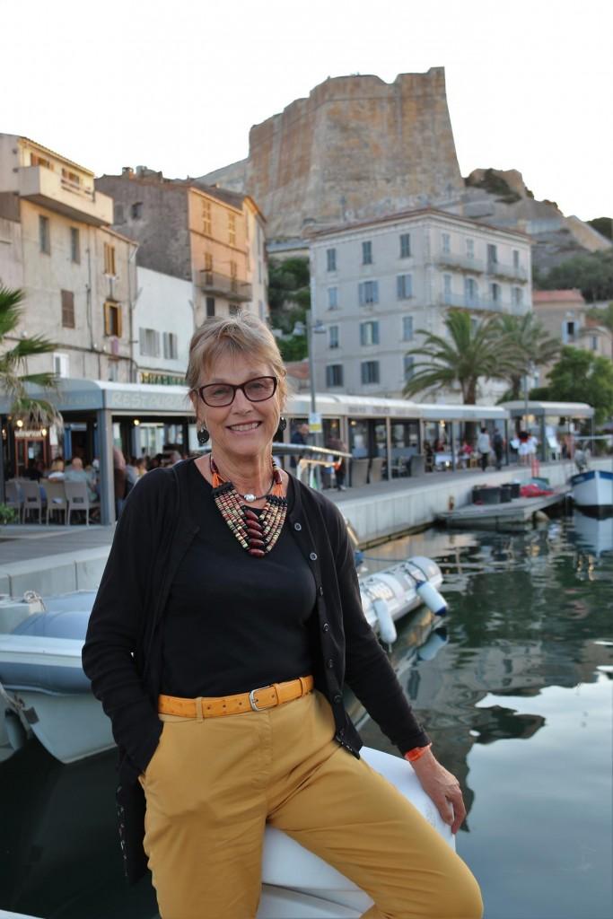 Michele's first visit to Bonifacio