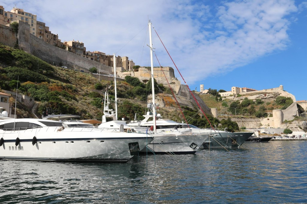Bonifacio is jewel in the crown for visiting super motoryachts