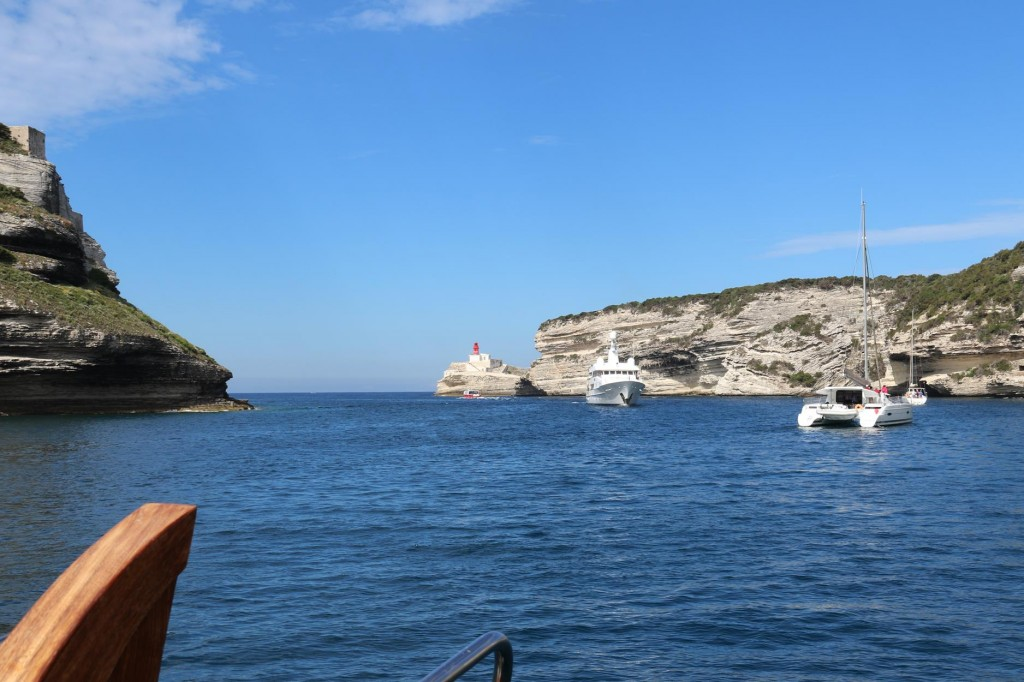 Busy boat traffic as we make our departure