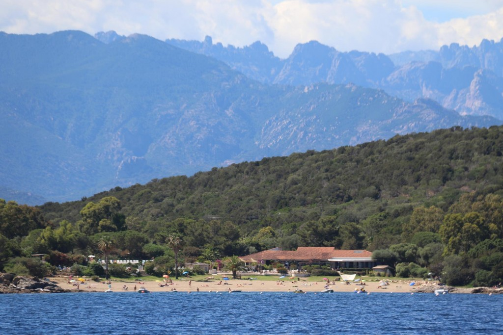 The south west coast of Corsica has bay after bay of wonderful sandy beaches