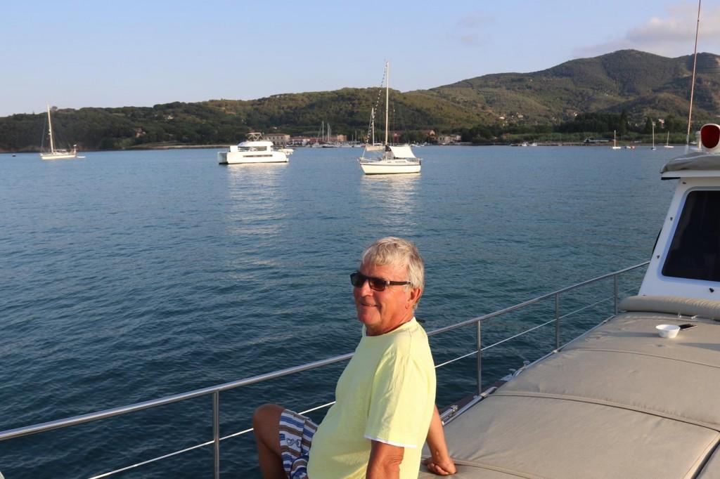 Again for privacy and cost we anchor out in the Radda dei Portoferraio