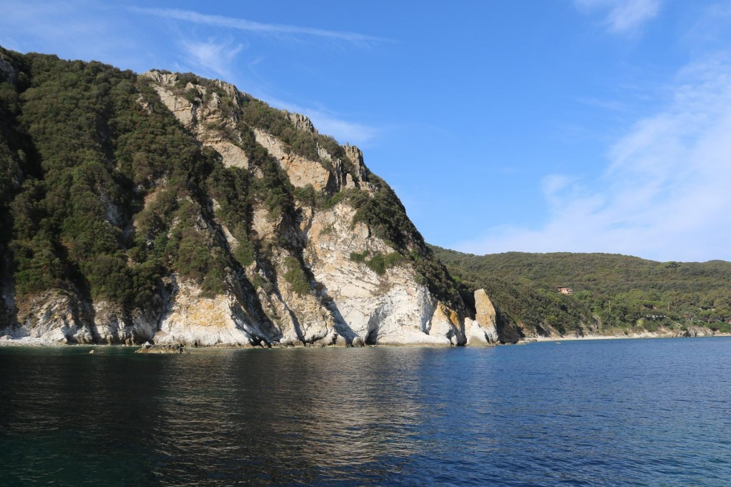 Back for a few hours to swim in the crystal clear waters by the white cliffs
