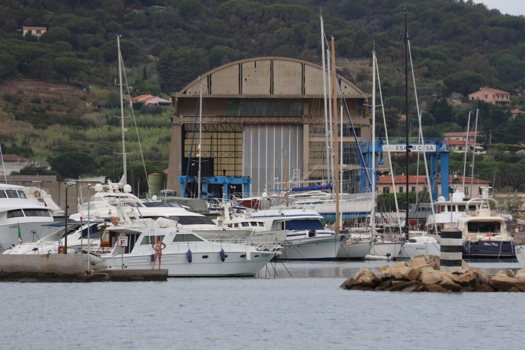 We enter Easom Cesa Marinia which is only 500m past the old town