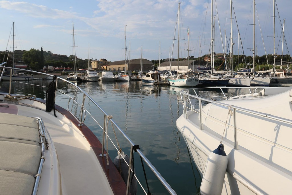 We gave the Tangaroa a good hose down and clean up on arrival, as we do when we go into a marina