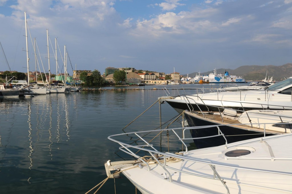 We booked a berth here in the marina as Ric had organised some work to be done on the boat
