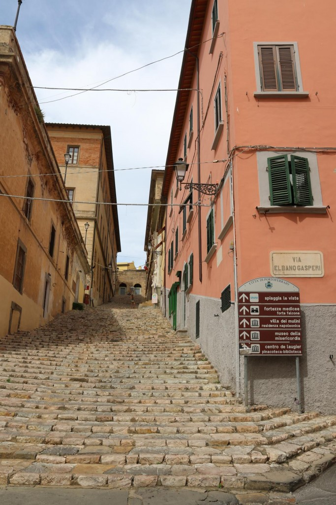 You need to be fit to be able to see all the sites in Portoferraio