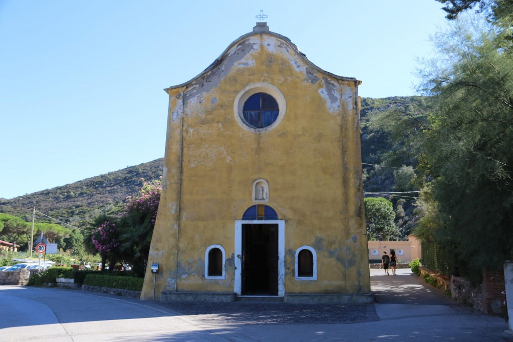 Church of the Assunta is situated close to the port
