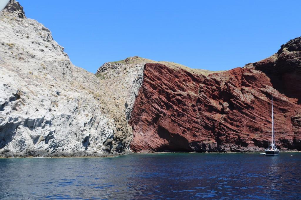 We return to the spectacular Cala Rossa