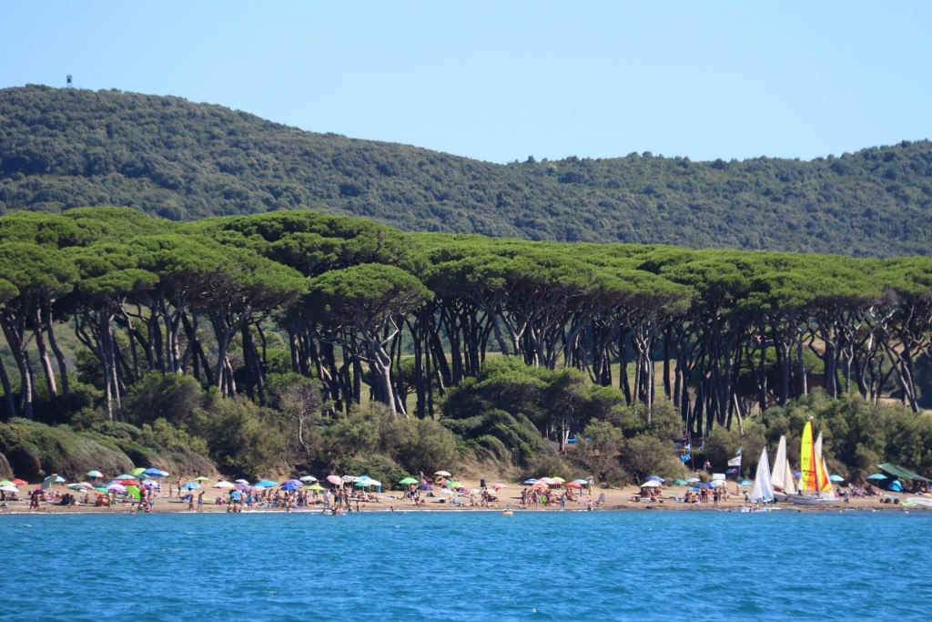 We anchor off the beach and take the opportunity to have a swim in the clear water